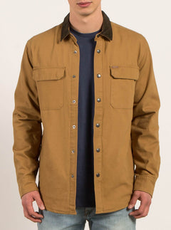 Veste Larkin  - Burnt Khaki
