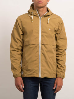 Veste à capuche Howard - Burnt Khaki