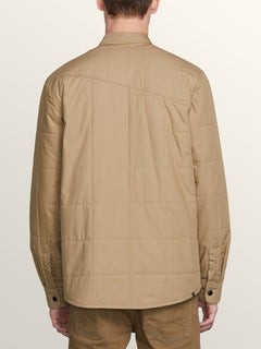 Veste Larkin Quilted - Sand Brown