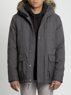 Lidward 5K Jacket - Heather Black (A1731905_HBK) [2]