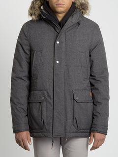 Lidward 5K Jacket - Heather Black (A1731905_HBK) [F]
