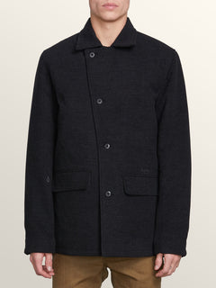 Veste Broken Boat - Heather Black