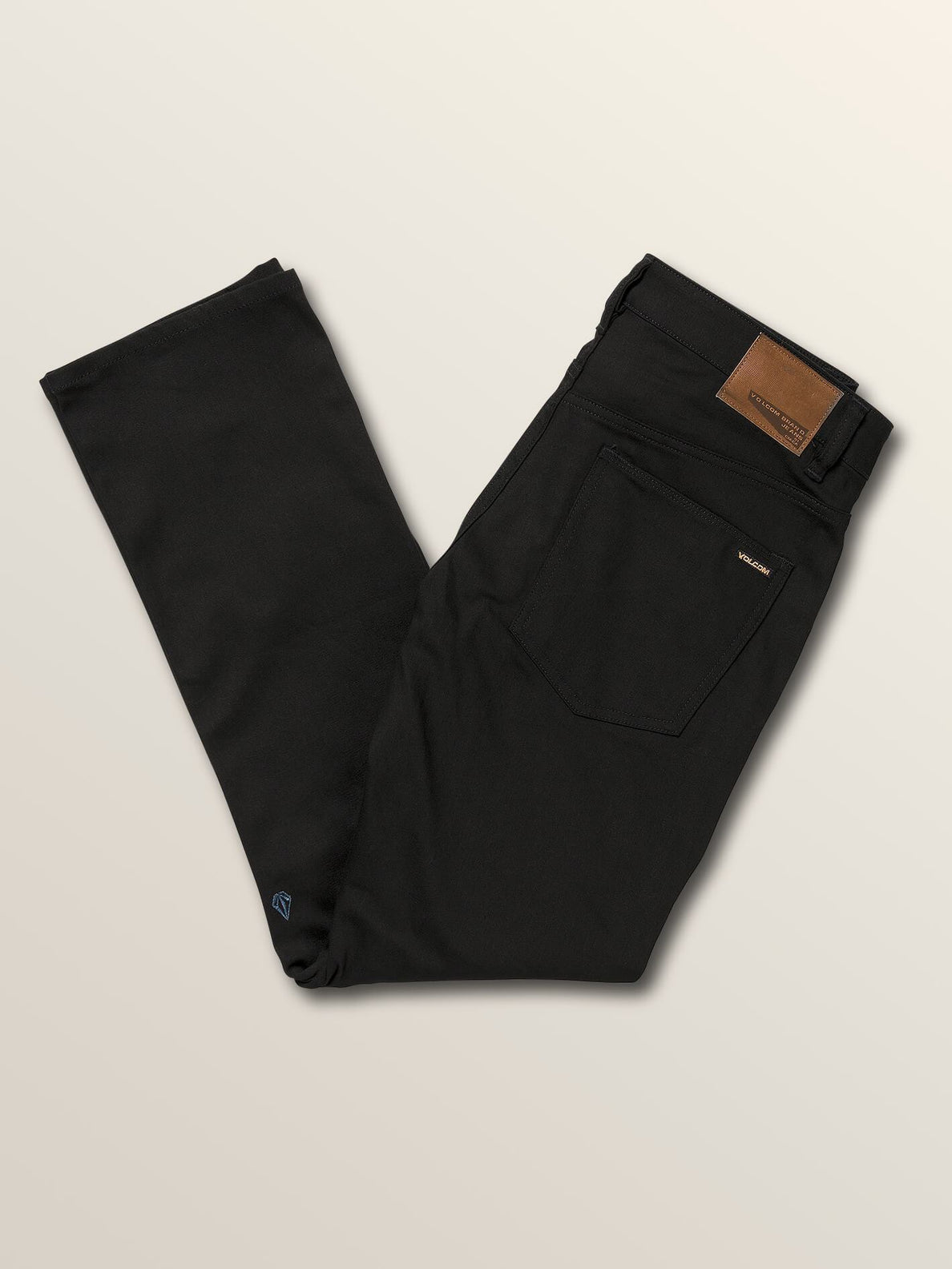 Jean Solver Denim - Black On Black