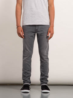 Jean Vorta Tapered - Cement Grey