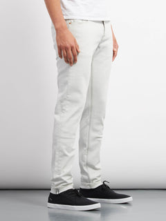Jean 2X4 Tapered - Dirty White