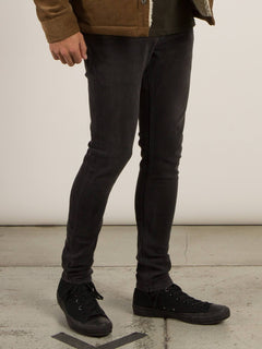 Jean 2X4 Tapered - Sulfur Black