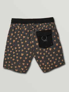 "Boardshort Ozzie Trunks 17"" - Black"