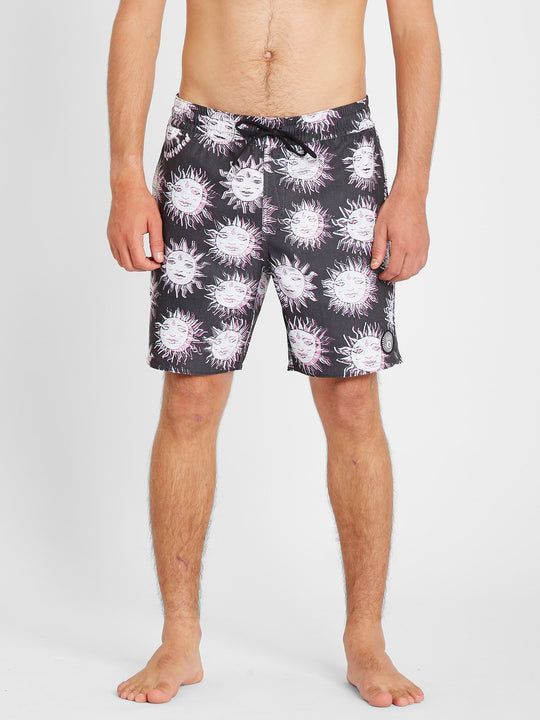 "Ozzy Trunk 17"" Boardshort - Black (A2512104_BLK) [B]"