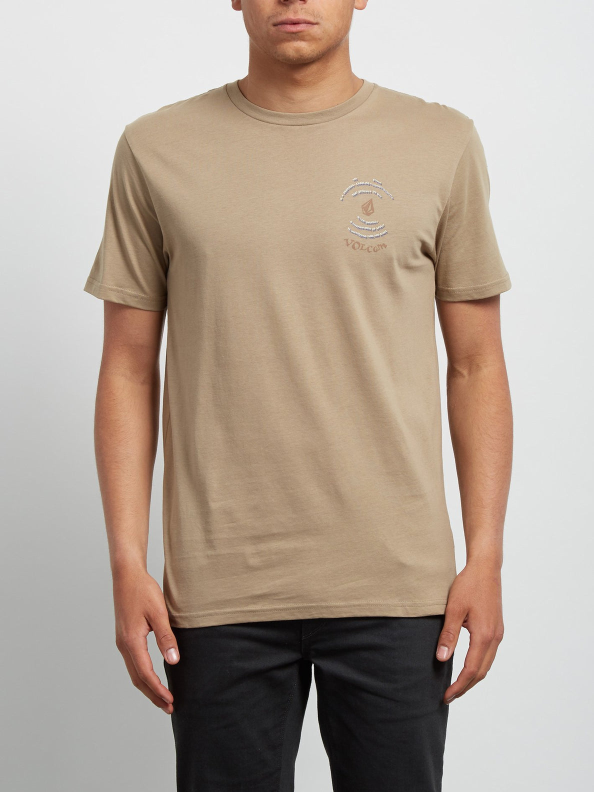 T-shirt à manches courtes Comes Around - Sand Brown