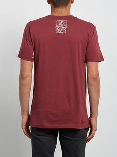 T-shirt à manches courtes Edge - Crimson