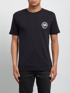 T-shirt à manches courtes Flag - Black