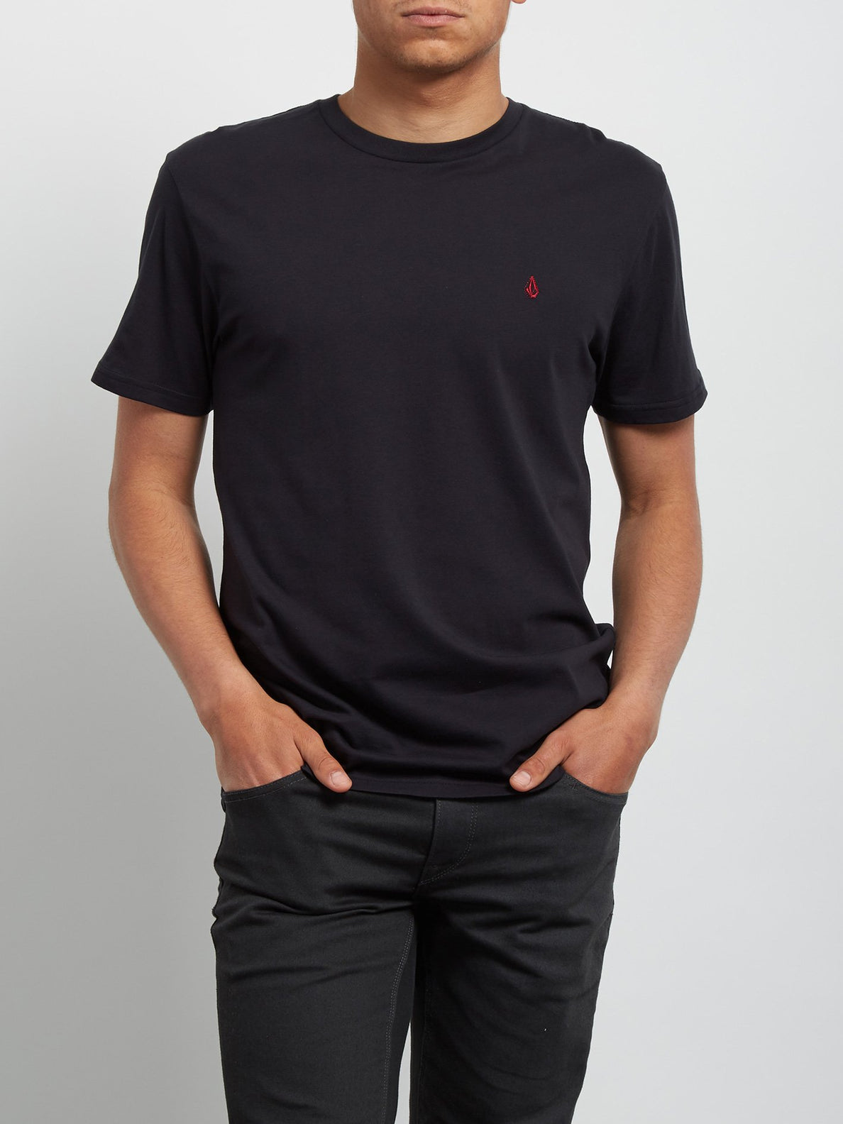 T-shirt à manches courtes Blanks - Black