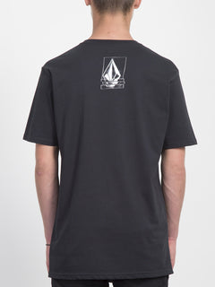 T-shirt Chopped Edge - Black