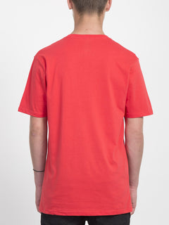 T-shirt Stone Blank - True Red