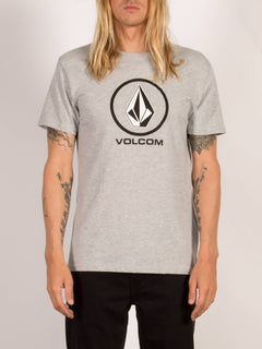 T-shirt manches courtes Circle Stone - Heather Grey