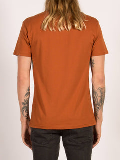 T-shirt manches courtes Budy - Copper