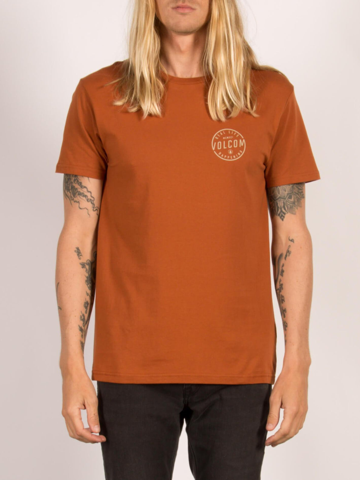 T-shirt à manches courtes On Lock - Copper