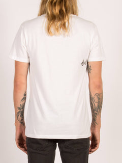 T-shirt à manches courtes Chopper - White