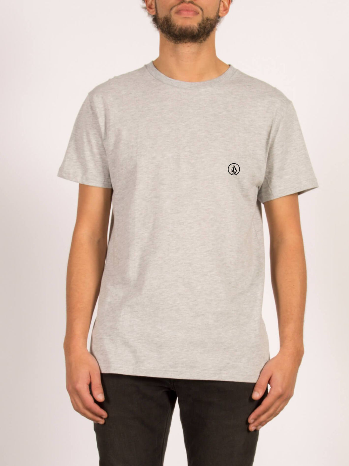 T-shirt à manches courtes Stone Blank - Heather Grey