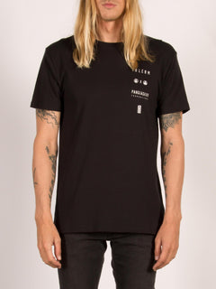 T-shirt manches courtes Pangea Seed Lys - Black