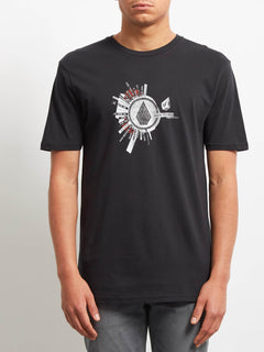 T-shirt Radiate  - Black
