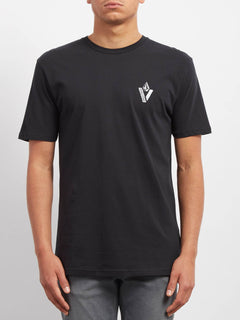 T-shirt Cut Out  - Black