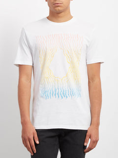 T-shirt Wiggly  - White