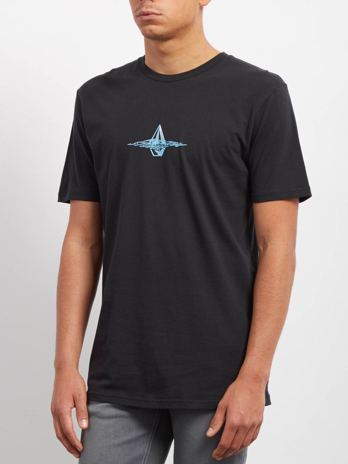 T-shirt Surface  - Black