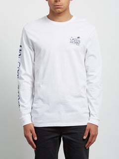 T-shirt à manches longues Last Resort - White