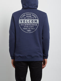 Sweatshirt à capuche Supply Stone - Deep Blue