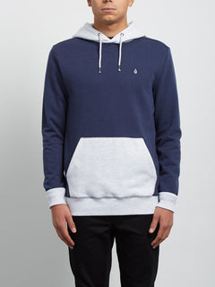 Sweatshirt à capuche Single Stone Division - Deep Blue