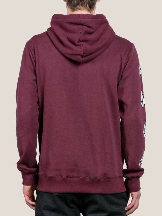 Sweat À Capuche Supply Stone Pullover - Dark Port