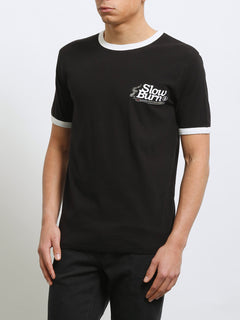 T-shirt à manches courtes Slowburn - Black