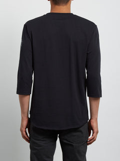 T-shirt manches 3/4 Enabler - Black