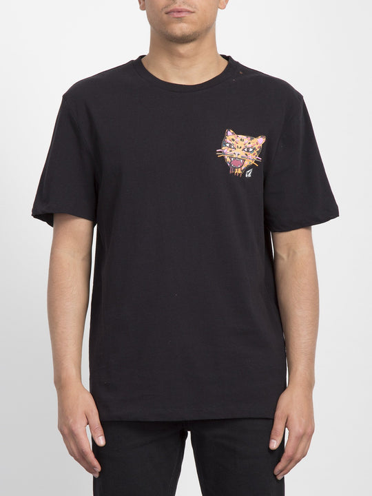 T-shirt Ozzy Tiger - Black