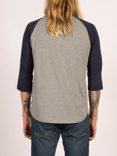 T-shirt manches 3/4 Swift - Indigo