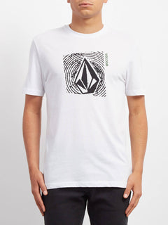 T-shirt Stonar Waves  - White