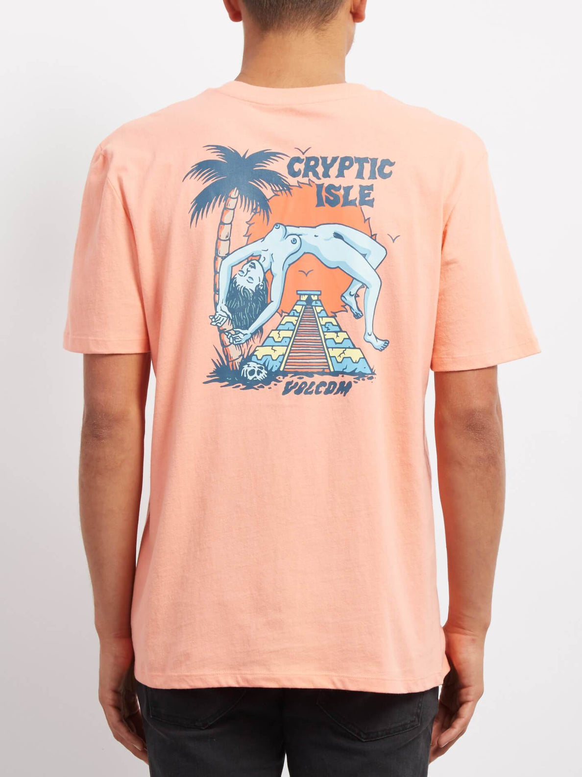 T-shirt Cryptic Isle  - Orange Glow