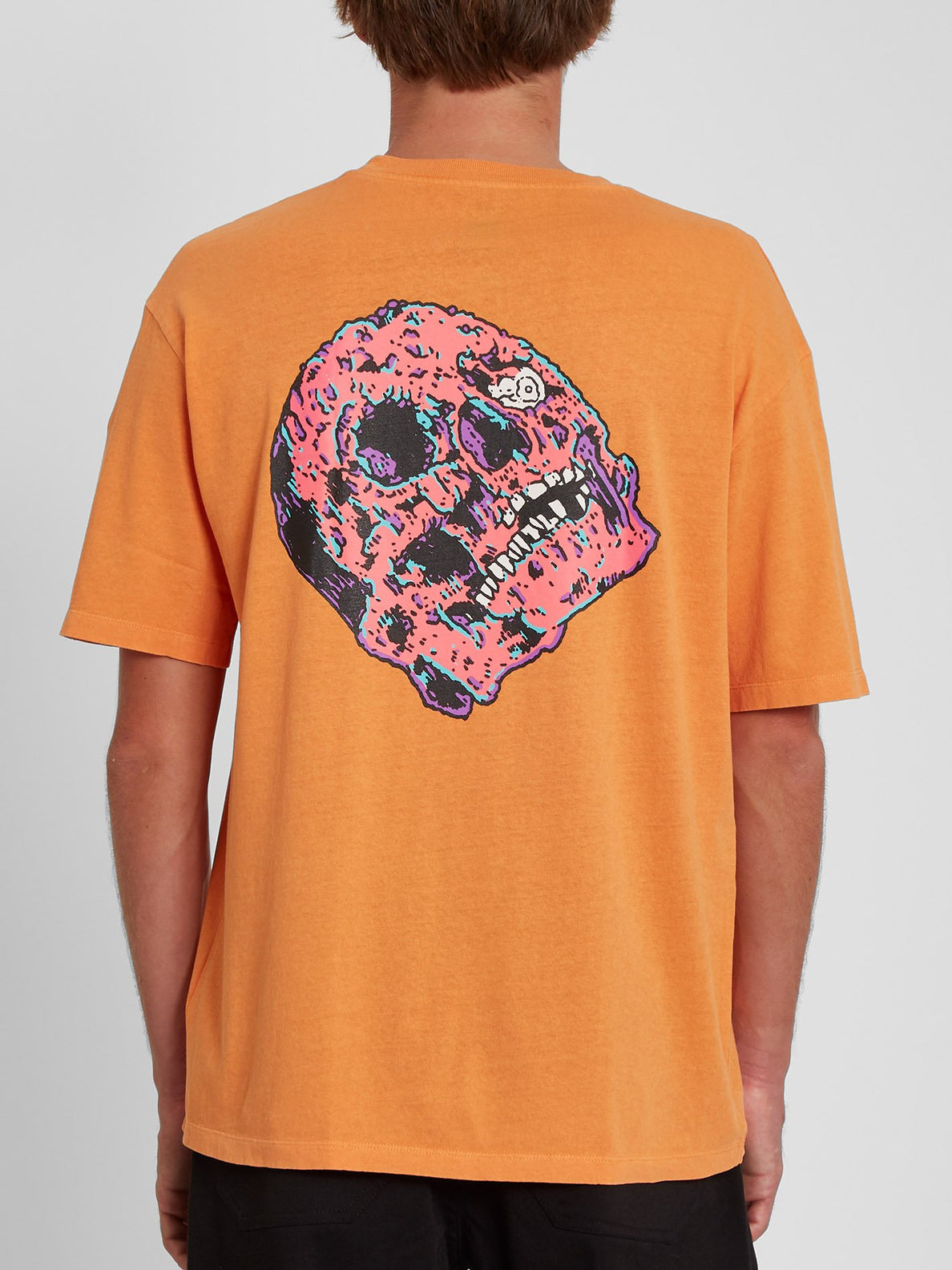 Spacegoolz T-shirt - BRIGHT MARIGOLD (A4342005_BMG) [B]