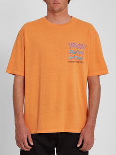 Spacegoolz T-shirt - BRIGHT MARIGOLD (A4342005_BMG) [F]