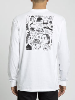 Mike Giant T-shirt - White (A4431951_WHT) [B]