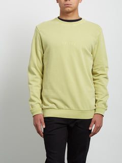 Sweatshirt Case Crew - Shadow Lime