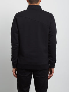 Sweatshirt Dixon Mock - Black