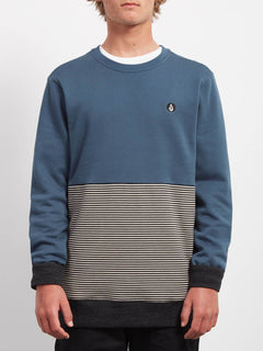 Sweat Threezy Crew - Navy Green
