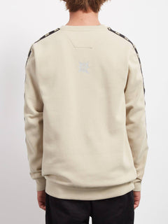 Sweat A.P. Crew - Feather Grey
