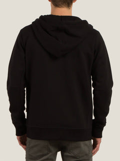 Sweatshirt Zippe A Capuche Vsm Empire - Black