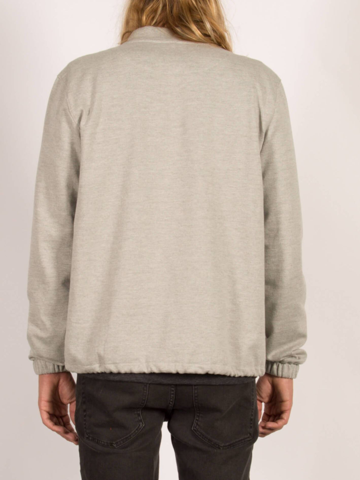 Sweatshirt bomber zippé Whip - Heather Grey