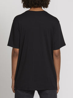 SOLID S/S TEE (A5031807_BLK) [B]