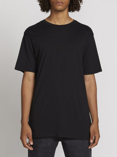 SOLID S/S TEE (A5031807_BLK) [F]