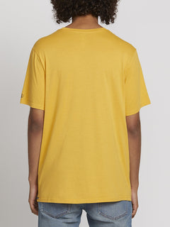 SOLID POCKET S/S TEE (A5031808_HGD) [B]